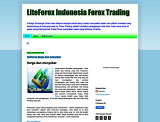 liteforex-id.blogspot.com screenshot