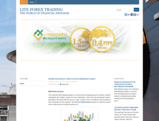 liteforextrading.wordpress.com screenshot
