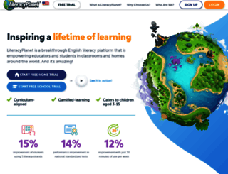 literacyplanet.com screenshot