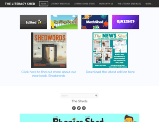 literacyshed.com screenshot