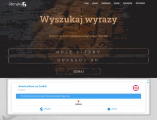 literaki.code123.eu screenshot
