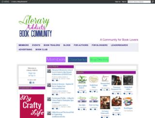 literaryaddicts.ning.com screenshot