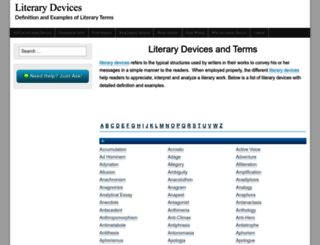 literarydevices.net screenshot