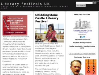 literaryfestivals.com.au screenshot