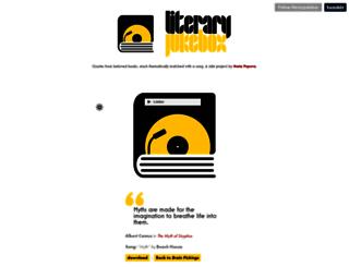 literaryjukebox.brainpickings.org screenshot