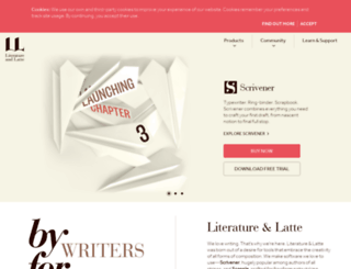 literatureandlatte.com screenshot