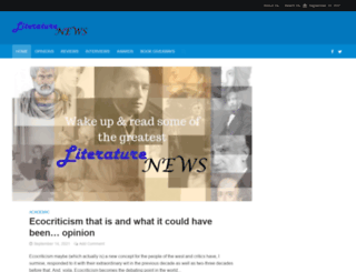 literaturenews.in screenshot