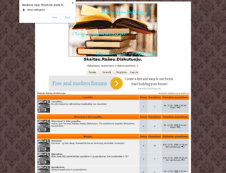literaturos-rojus.1forum.biz screenshot