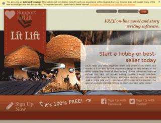 litlift.com screenshot