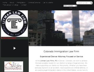 litmanlawusa.com screenshot