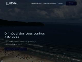 litoralconstrutora.com.br screenshot