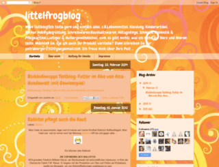 littelfrogblog.blogspot.nl screenshot