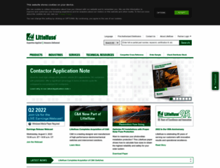 littelfuse.com screenshot