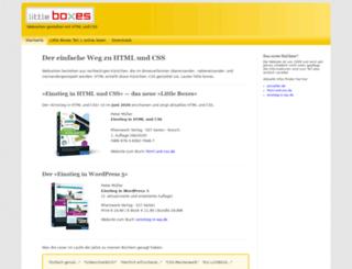little-boxes.de screenshot