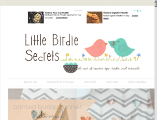 littlebirdiesecrets.com screenshot