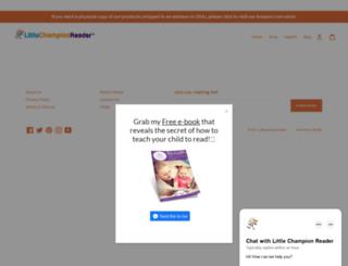 littlechampionreader.com screenshot