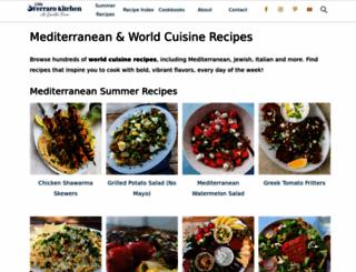 littleferrarokitchen.com screenshot
