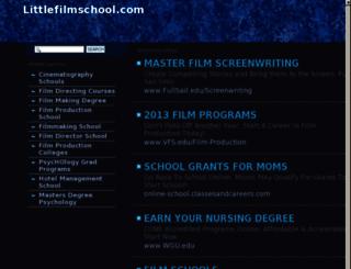 littlefilmschool.com screenshot