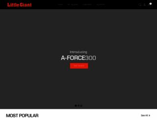 littlegiantladders.com screenshot