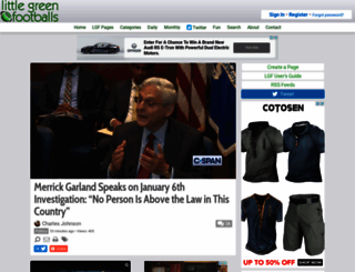 littlegreenfootballs.com screenshot