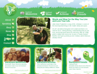 littlegreenfootprints.com screenshot