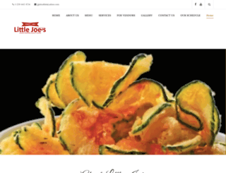 littlejoesspecialevents.com screenshot