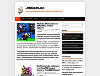 littlekendra.com screenshot