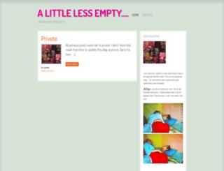 littlelessempty.wordpress.com screenshot