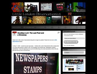 littlelondonobservationist.wordpress.com screenshot