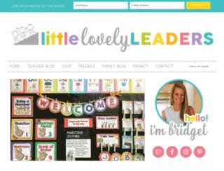 littlelovelyleaders.blogspot.com screenshot