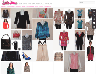 littlemissshopaholics.blogspot.com screenshot