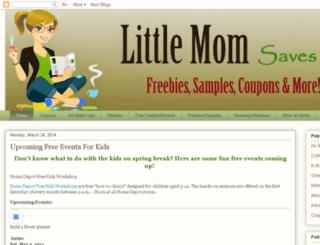 littlemomprairie.blogspot.com screenshot