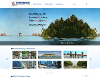 littlenomads.com screenshot