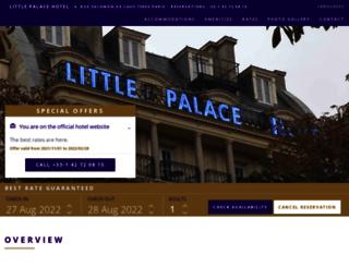 littlepalacehotel.com screenshot