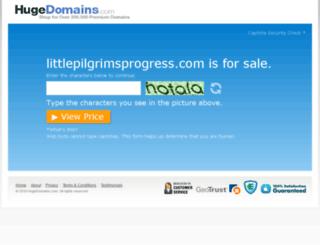 littlepilgrimsprogress.com screenshot