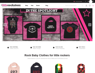 littlerockstore.com screenshot