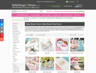 littlethingsbaby.com screenshot