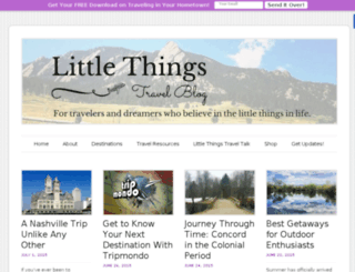 littlethingsblogger.com screenshot