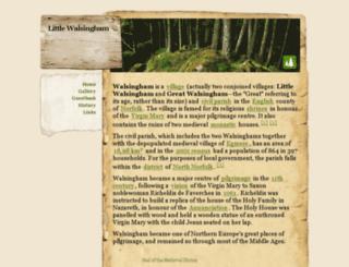 littlewalsingham.webs.com screenshot