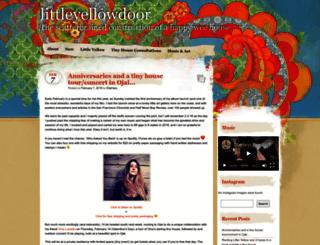 littleyellowdoor.wordpress.com screenshot