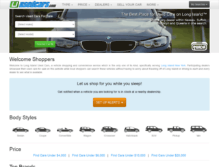 liusedcars.com screenshot