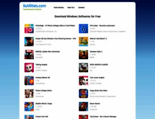 liutilities.com screenshot