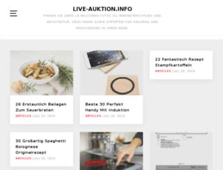 live-auktion.info screenshot