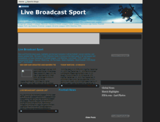 live-broadcast-sport.blogspot.com screenshot