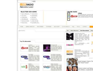 live-radio.nl screenshot