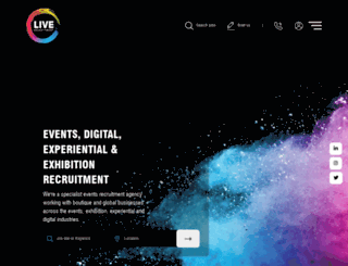 live-recruitment.co.uk screenshot
