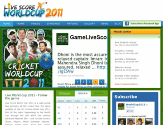 live-score-worldcup.com screenshot