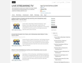 live-streaming-tv-38.blogspot.com screenshot
