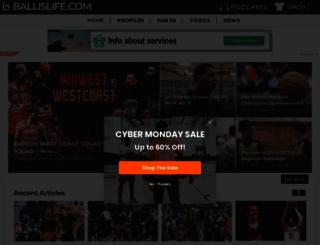 live.ballislife.com screenshot