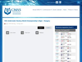 live.cmas.org screenshot